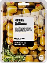 Düfte, Parfümerie und Kosmetik Verfeinende Tuchmaske mit Olivenöl - Superfood For Skin Refining Sheet Mask