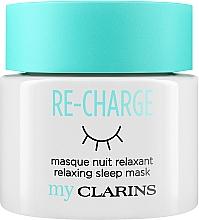 Düfte, Parfümerie und Kosmetik Entspannende Nachtmaske für Gesicht und Hals - Clarins My Clarins Re-Charge Relaxing Sleep Mask
