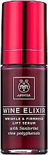 Straffendes Anti-Falten Gesichtsserum mit Lifting-Effekt - Apivita Wine Elixir Wrinkle And Firmness Lift Serum — Bild N2