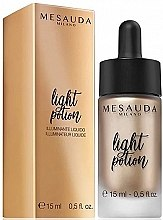 Düfte, Parfümerie und Kosmetik Flüssiger Highlighter - Light Potion Liquid Highlighter Mesauda