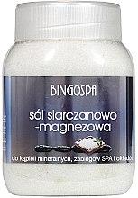 Düfte, Parfümerie und Kosmetik Badesalze mit Magnesiumsulfat - BingoSpa Salt And Magnesium Sulphate