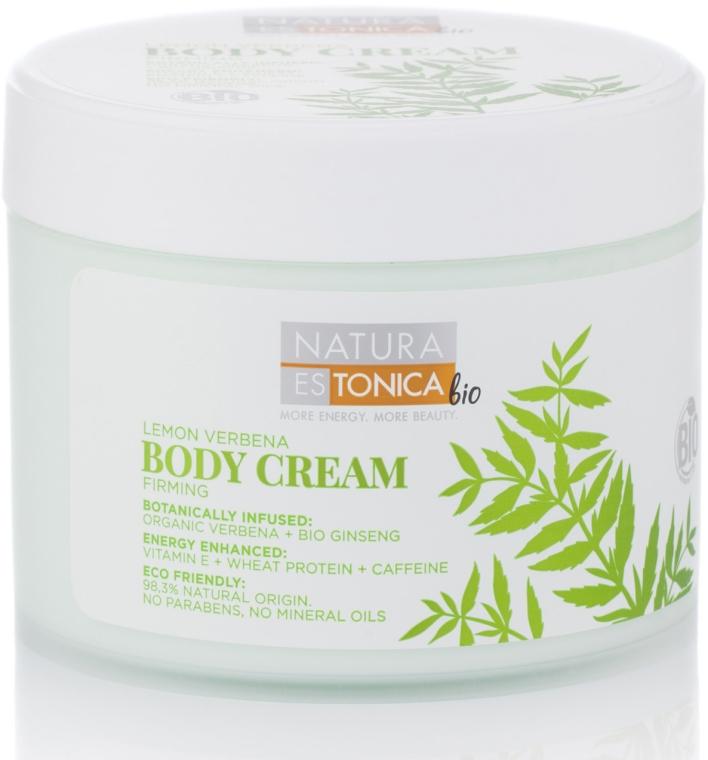 Straffende Körpercreme mit Verbene und Ginseng - Natura Estonica Lemon Verbena Body Cream — Bild N1