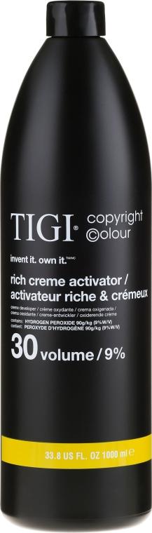 Entwicklerlotion 9% - TIGI Colour Activator 30 vol / 9% — Bild N1