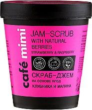 Düfte, Parfümerie und Kosmetik Marmelade-Peeling für den Körper mit Erdbeeren und Himbeeren - Cafe Mimi Jam-Scrub With Natural Berries