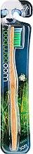 Düfte, Parfümerie und Kosmetik Bambuszahnbürste weich grün-blau - Woobamboo Adult Standard Handle Toothbrush Soft