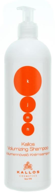Shampoo für mehr Volumen - Kallos Cosmetics Volumizing Shampoo — Bild N1