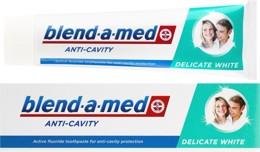 Zahnpasta Anti-Cavity Delicate White - Blend-a-med Anti-Cavity Delicate White
