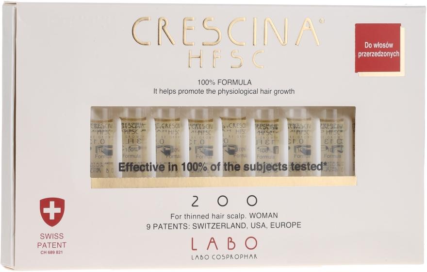 Wiederherstellendes Lotion-Konzentrat zum Haarwachstum für Frauen 200 - Labo Crescina HFSC Re-Growth 200