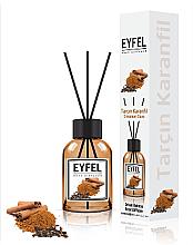Düfte, Parfümerie und Kosmetik Raumerfrischer Cinnamon Clove - Eyfel Perfume Reed Diffuser Cinnamon Clove