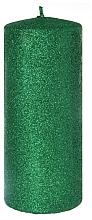 Düfte, Parfümerie und Kosmetik Dekorative Kerze grün 7x14 cm - Artman Glamour