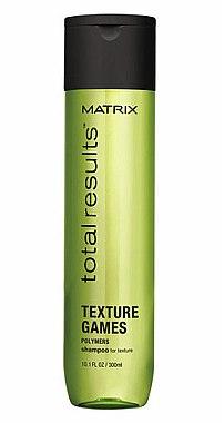 Stärkendes Shampoo für einfaches Styling - Matrix Total Results Texture Games Shampoo