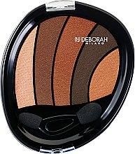 Düfte, Parfümerie und Kosmetik Lidschatten - Deborah Perfect Smokey Eye Palette