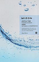 Düfte, Parfümerie und Kosmetik Feuchtigkeitsspendende Tuchmaske für das Gesicht mit Wasser für mehr Elastizität und Vitalität - Mizon Joyful Time Essence Mask