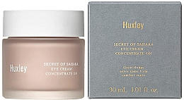 Düfte, Parfümerie und Kosmetik Feuchtigkeitsspendende Augencreme mit Birnenkernöl und Kaktus-Extrakt - Huxley Secret of Sahara Eye Cream Concentrate On