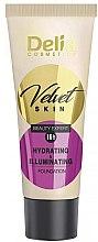 Düfte, Parfümerie und Kosmetik Feuchtigkeitsspendende Foundation - Delia Mineral Velvet Skin