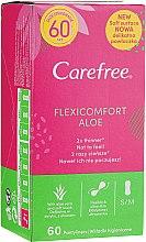 Düfte, Parfümerie und Kosmetik Slipeinlagen mit Aloe Vera-Extrakt 60 St. - Carefree Flexi Comfort Aloe Extract