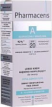 Düfte, Parfümerie und Kosmetik Tief feuchtigkeitsspendende leichte Gesichtscreme SPF 20 - Pharmaceris A Vita Sensilium Deeply Moisturizing Cream