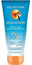 Düfte, Parfümerie und Kosmetik Feuchtigkeitsspendende Sonnenschutzemulsion SPF 50 - Kolastyna Aqua Aksamit SPF50