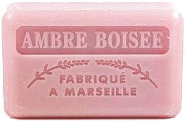 Düfte, Parfümerie und Kosmetik Handgemachte Naturseife Ambre Boisee - Foufour Savonnette Marseillaise Ambre Boisee