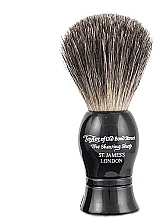 Düfte, Parfümerie und Kosmetik Rasierpinsel schwarz - Taylor of Old Bond Street Shaving Brush Pure Badger size S