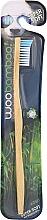 Düfte, Parfümerie und Kosmetik Zahnbürste super weich blau-weiß - Woobamboo Toothbrush Adult Super Soft
