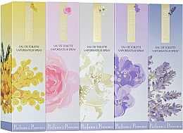Düfte, Parfümerie und Kosmetik Charrier Parfums Parfums De Provence - Duftset (Eau de Toilette 30ml + Eau de Toilette 30ml + Eau de Toilette 30ml + Eau de Toilette 30ml + Eau de Toilette 30ml)