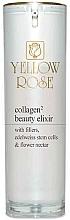 Düfte, Parfümerie und Kosmetik Feuchtigkeitsspendendes und straffendes Gesichtselixier mit Kollagen, Edelweiß-Stammzellen und Blumennektar - Yellow Rose Collagen2 Beauty Elixir