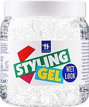 Düfte, Parfümerie und Kosmetik Haarstyling-Gel mit Nass-Effekt - Hegron Styling Gel Wet Look