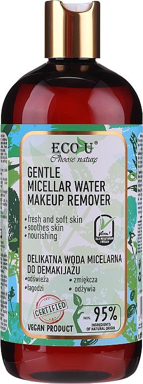 Mizellenwasser zum Abschminken - Eco U Choose Nature Gentle Micellar Water