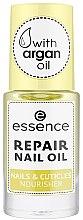 Düfte, Parfümerie und Kosmetik Regenerierendes und pflegendes Nagel- und Nagelhautöl mit Argan - Essence Repair Nail Oil Nails & Cuicles Nourisher