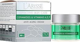 Düfte, Parfümerie und Kosmetik Anti-Aging Gesichtscreme mit Ceramiden und Vitamin A, E und F 40+ - Ava Laboratorium L'Arisse 5D Anti-Wrinkle Cream Ceramides + Vitamines