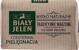 Düfte, Parfümerie und Kosmetik Hypoallergene Naturseife für empfindliche Haut - Bialy Jelen Hypoallergenic Natural Soap Premium