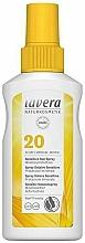 Düfte, Parfümerie und Kosmetik Sonnenschutzspray mit mineralischem Sofortschutz für empfindliche Haut SPF 20 - Lavera Sensitive Sun Spray SPF 20