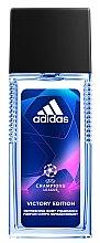 """Düfte, Parfümerie und Kosmetik Adidas UEFA Champions League Victory Edition - Antiperspirant Deodorant Spray für Männer """"Action Control"""""""