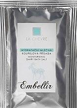Düfte, Parfümerie und Kosmetik Feuchtigkeitsspendendes Badesalz mit Ziegenmilch - La Chevre Embellir Moisturizing Milk Bath Additive