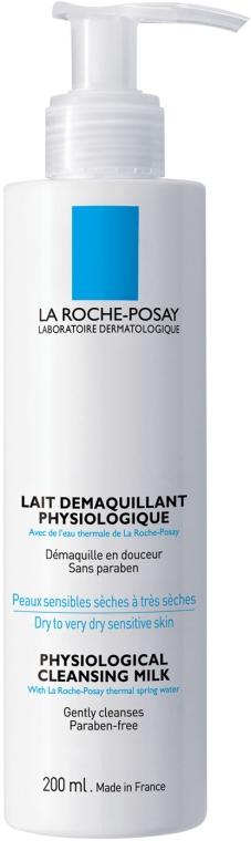 Gesichtsreinigungsmilch für trockene bis sehr trockene und empfindliche Haut - La Roche-Posay Physiological Cleansing Milk  — Bild N1