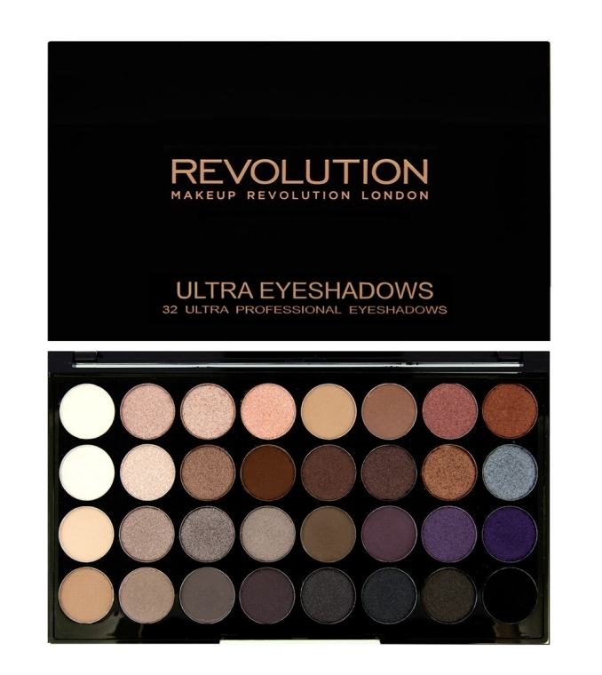 Lidschattenpalette - Makeup Revolution Ultra 32 Shade Palette Affirmation — Bild N2