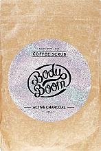 Düfte, Parfümerie und Kosmetik Kaffee-Peeling für den Körper mit Aktivkohle - Body Boom Active Charcoal Coffee Scrub
