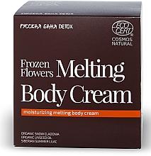Feuchtigkeitsspendende Körperlotion - Natura Siberica Fresh Spa Russkaja Bania Detox Frozen Flowers Melting Body Cream — Bild N1