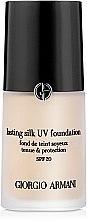 Düfte, Parfümerie und Kosmetik Foundation - Giorgio Armani Lasting Silk UV Foundation SPF20