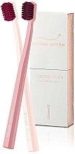 Düfte, Parfümerie und Kosmetik Zahnbürste 2 St. - Swiss Smile Nuance Nude Two Toothbrushes