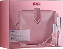 Düfte, Parfümerie und Kosmetik Make-up Set (Mascara 9ml + Lipgloss 5ml + Kosmetiktasche) - Pupa Limited Edition
