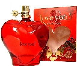 Düfte, Parfümerie und Kosmetik Real Time Love You! Red - Eau de Parfum