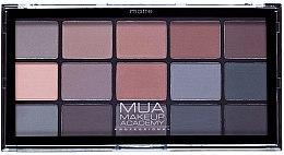 Düfte, Parfümerie und Kosmetik Lidschattenpalette - MUA 15 Shade Palette