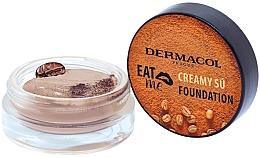 Düfte, Parfümerie und Kosmetik Mousse Foundation - Dermacol Eat Me Creamy Su Foundation