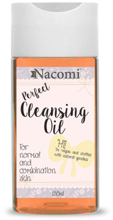 Reinigendes Gesichtsöl für normale und Mischhaut - Nacomi Cleansing Oil Make Up Remover