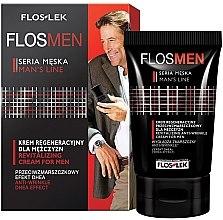 Düfte, Parfümerie und Kosmetik Regenerierende Anti-Falten Gesichtscreme für Herren - Floslek Flosmen Revitalizing Anti-Wrinkle Cream For Men