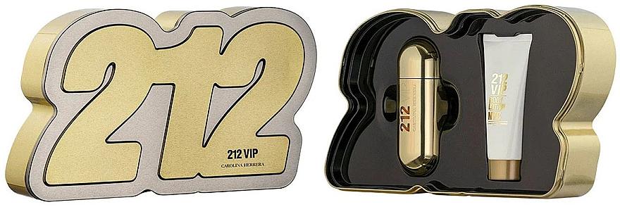 Carolina Herrera 212 VIP - Duftset (Eau de Parfum 80ml + Körperlotion 100ml)