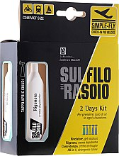 Düfte, Parfümerie und Kosmetik Gesichtspflegeset - Proraso Sul Filo Del Rasoio 2 Days Kit (Gel/2x10ml + Creme/10ml + Balsam/10ml + Seife)