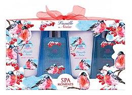 Düfte, Parfümerie und Kosmetik Körperpflegeset - Spa Moments Vanille Noire (Duschgel 2x100ml+Körperlotion 2x60ml)